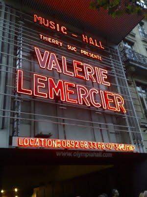 Valérie Lemercier déménage à l'Olympia