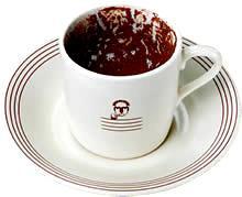 Soixante-douzième particpation aux TWD - Crèmes étagées chocolat-citron-café