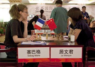 Grand Prix d'échecs féminin à Nanjing : la ronde 8 en live à 9h