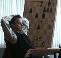 Le maître international d'échecs Jean Hébert