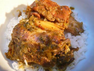 Hara Ghosht Suka Kadi – Curry sec d'agneau