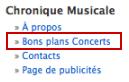 Nouvelle Page Bons Plans Concerts