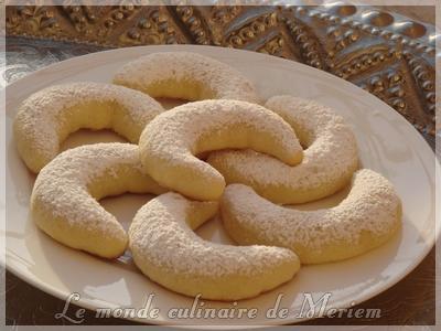 Croissants a la noix de coco
