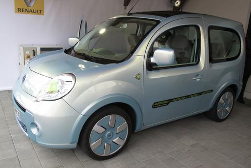 2009 renault kangoo be bop ze auto design tech. Black Bedroom Furniture Sets. Home Design Ideas