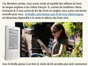 Kindle arrivera quelque part 2010 assure Amazon
