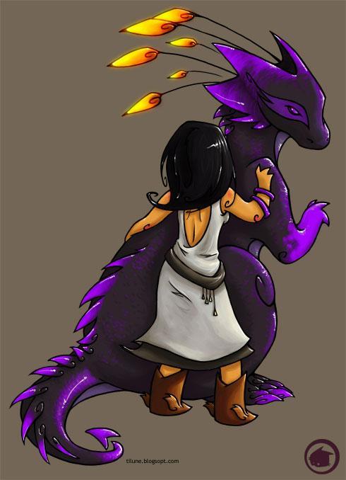 Dragon plume