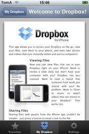 Gardez vos fichiers prêts de vous avec DropBox