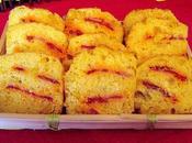 Mini cakes maïs chorizo