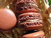 Macaron crème fouettée chocolatée