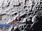 Premières images l'impact LCROSS Lune
