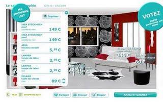 moi et mon salon ikea paperblog. Black Bedroom Furniture Sets. Home Design Ideas