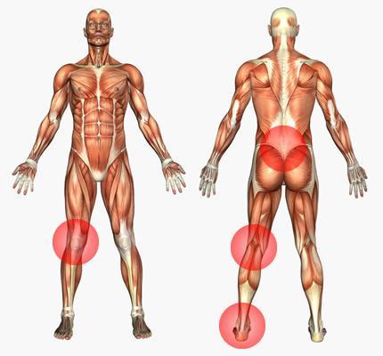 Porter des poids aux chevilles une pratique dangereuse for Poids supporte par cheville molly