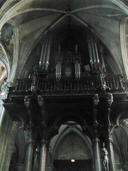 Buffet de l'orgue Saint-Léon de Nancy