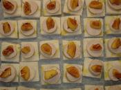 Canapé boudin blanc pomme reinette