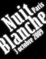 nuit blanche paris 2009