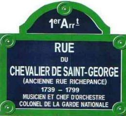 CHEVALIER DE SAINT-GEORGE