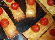 Feuilletés feta bonbons tomates cerises fête