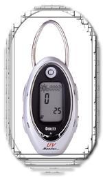 alerte temperature uv horloge reveil porte-cle