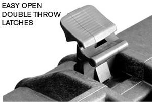 easy open double throw latches