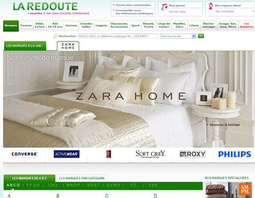 zara home la redoute voir. Black Bedroom Furniture Sets. Home Design Ideas
