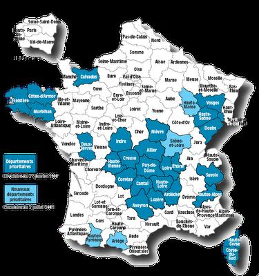 Où déménager ? Tour de France des zones polluées ... pour les éviter !