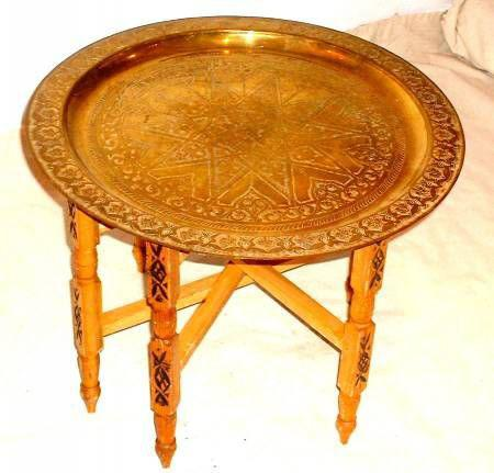 Decoration cuisine salon et jardin et blogs finou et for Table a the marocaine