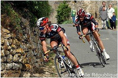 Océane Cycle Poitevin : les départs - l'équipe