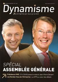 Présidence de l&#39;UWE : <b>Eric Domb</b> passe le relais à Jean-Pierre Delwart - presidence-luwe-eric-domb-passe-relais-jean-p-L-1
