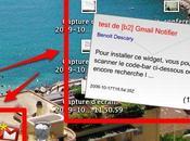 GMail Notifier: notifications animées pour mails