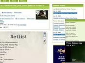Setlist.fm, partage listes concert mode wiki