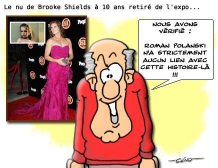 La Babole - Brooke Shield nue à 10 ans : la photo retirée d'une exposition