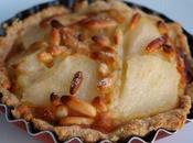 Tartelettes poires, badiane pignons