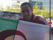 Franck Ribéry, Français fête victoire l'Algérie