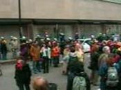 Manifestation contre Bush Montréal