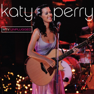 Katy Perry - Concert MTV Unplugged 2009 affiche