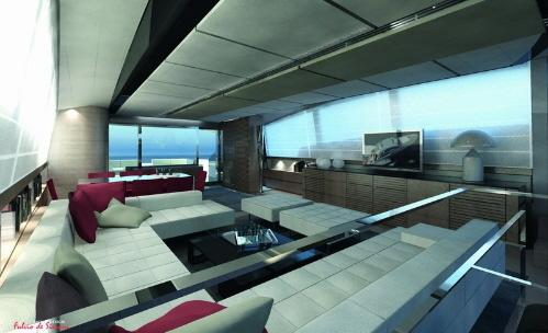 yacht g ant int rieur luxueux paperblog. Black Bedroom Furniture Sets. Home Design Ideas