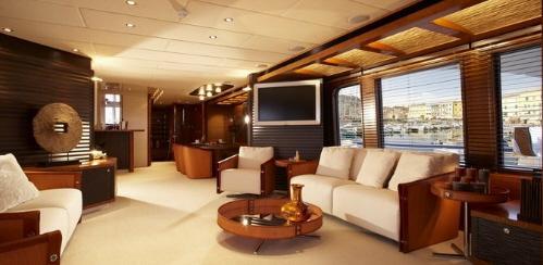 Yacht Gant Intrieur Luxueux Paperblog
