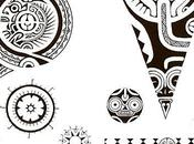 Motif Tatouage Polynésien.(2)