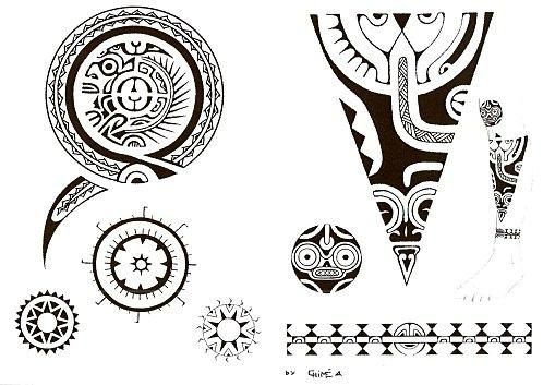 errolcardbe tatouage maori. Black Bedroom Furniture Sets. Home Design Ideas