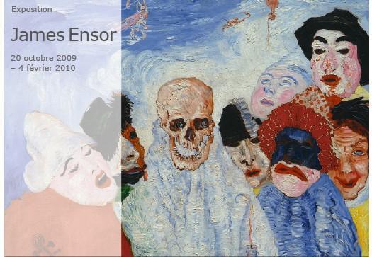James Ensor au Musée d'Orsay