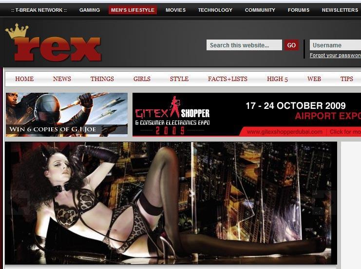 ginkoweb rex magazine