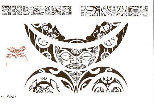 tatouage polynesien. Motif Tatouage Polynésien.(3). Publié le 27 octobre 2009 par Matouter