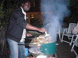Porc braisé à la camerounaise