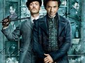L'affiche officielle Sherlock homes avec Robert Downey