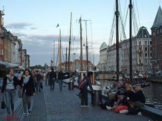 Un petit verre sur Nyhavn