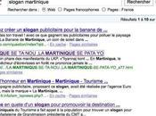 slogan pour Martinique Google déja choisi sien