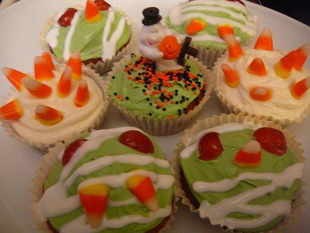 Happy halloween cupcakes pic s au potiron et quelques id es de derni res minutes pour un menu - Idee menu halloween ...
