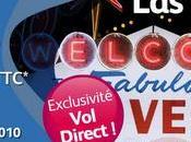 Vols directs Paris-Las Vegas 2010