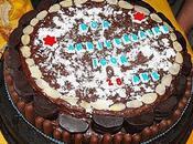 Gâteau d'anniversaire Nutella