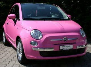 fiat 500 so pink je la veux je la veux lire. Black Bedroom Furniture Sets. Home Design Ideas